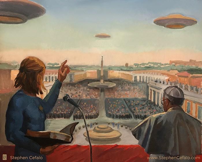 Religiones del mundo se unen como preámbulo a la DivulgaciónExtraterrestre