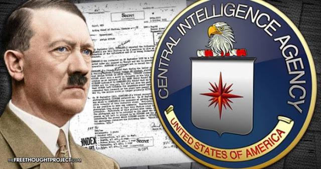 Documentos desclasificados de la CIA revelan que Hitler sobrevivió a la Segunda Guerra Mundial, con una foto parademostrarlo