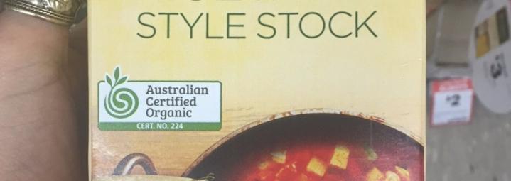 Certificado orgánico no siempre significasaludable