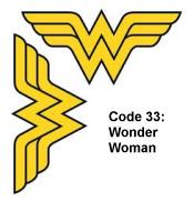 Code33WonderWoman
