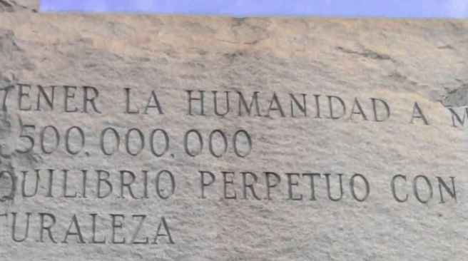 13_Georgia_Guidestones_first_precept