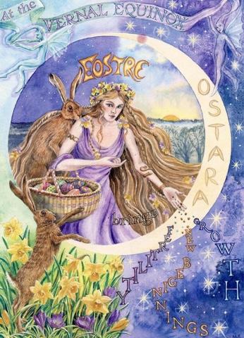 Equinoccio de Primavera, Pascua: Ishtar — El Retorno de laDiosa