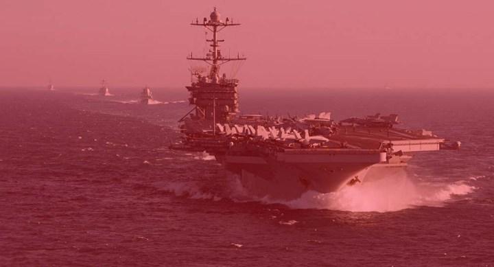 Aumentan sospechas de un nuevo ataque de bandera falsa — esta vez contra el portaaviones de clase Nimitz, USS Harry S.Truman