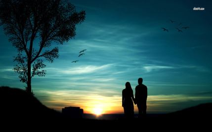 15209-couple-silhouette-in-the-sunset-1280x800-photography-wallpaper