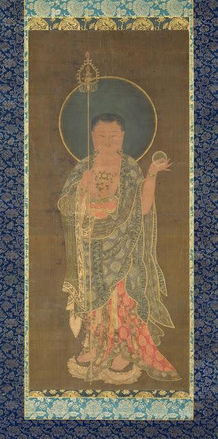 Goryeo-Kshitigarbha_(Chijang)-late.14c