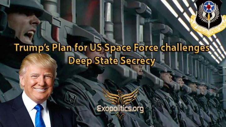 La Fuerza Espacial de los EE.UU. pone en riesgo la secrecía del EstadoProfundo