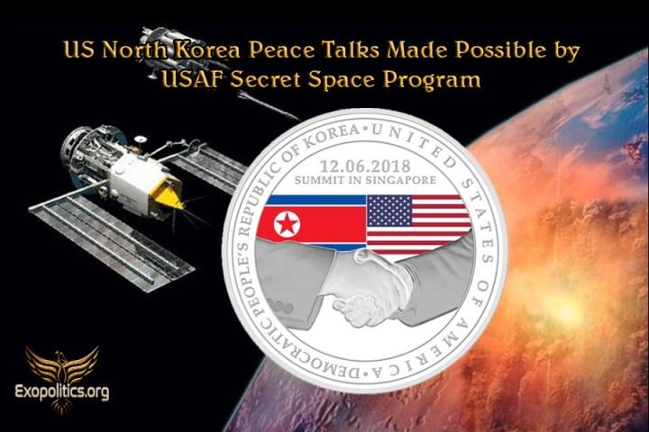 Paz entre EE.UU. y Corea fue posible gracias al programa secreto espacial de laUSAF