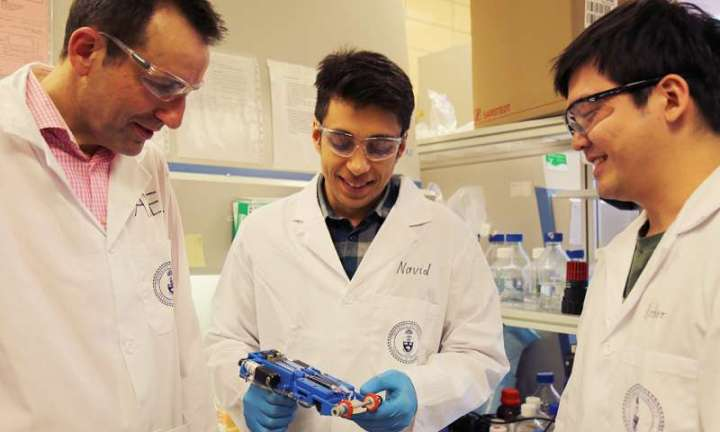 Investigadores desarrollan una impresora de piel 3-D portátil para reparar heridasprofundas
