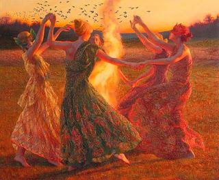 La Hermandad de la Rosa, remembranza de tiempos antiguos — Sacerdotisas y Sacerdotes anclando Amor yLuz