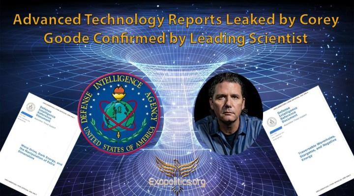 Informes de tecnología avanzada filtrados por Corey Goode confirmados por lídercientífico
