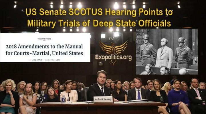 Audiencia del senado de los EE.UU. apunta a juicios militares de funcionarios del DeepState